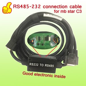 OBD2 높은 품질 진단 케이블 RS232 ~ CarTruck 전체 전기 내부 무료 선박 7 개 케이블 MB 별 C3의 RS485