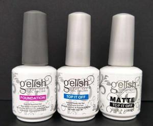 Harmony Gelish LED UV Gel nail polish Nail art lacquer Soak off nail gel french nails Top coat Base