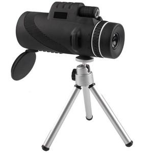 جديد كبير العدسة 40x60 محايد عالية مزدوجة عالية قائمة مناظير الهاتف المحمول تلسكوب كاميرا الهاتف المحمول