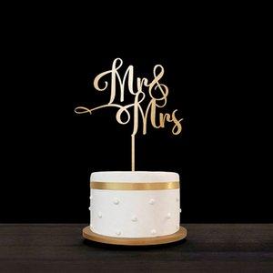 Г-Н И Г-жа свадебный торт Топпер индивидуальные свадебный торт Топпер, персонализированные торт Топпер для участия партии