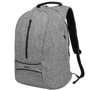 DTBG Anti Theft Laptop Backpack 17.3 pulgadas de gran capacidad Slim Back Pack Black Grey Classic School Mochila Boy Girl Bolsas de viaje