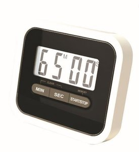 Free shipping by dhl Christmas Gift Digital Kitchen Count Down  Up LCD display Timer  clock Alarm with magnet stand clip lin3434