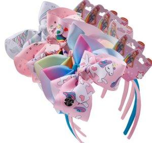 Licorne bandeau serre-tête de bébé designer fille de bébé de Siwa de Unicórnio accessoires 6 couleurs articles de fête