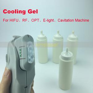 HIFU IPL ELIGHT RF gel de refroidissement par ultrasons pour la perte de graisse amincissant la machine