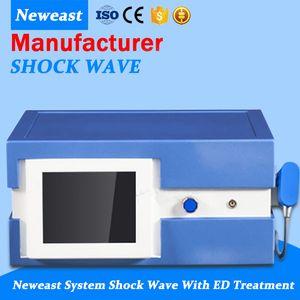 Alemanha importou Compressor 7 Bar 2000000 Shots Shock Wave Therapy Shockwave máquina máquina de tratamento ED Shock Wave Equipamento Therapy