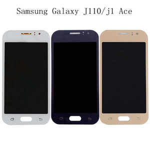 Samsung Galaxy için J1 Ace LCD meclisi J110M J110H J110F telefon ekran j110LCD dokunmatik ekran + ücretsiz kargo