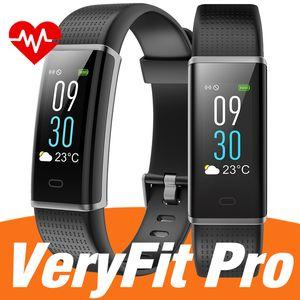 Original ID130C smart watch bracelet ID115 PLUS Wristband Smartwatch Fitness Tracker watchs with App Veryfit pro for men women watches