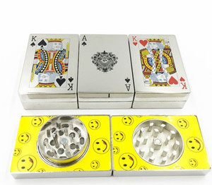 Creative poker, cigarette lighter, metal smoking set wholesale