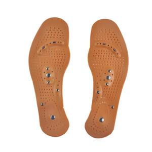 Magnetic Therapy Magnet Health Care Foot Massage plantillas para hombres / mujeres Comfort Pads Foot Care Massager hombres / mujeres