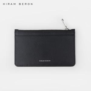 Hiram Beron CUSTOM NAME SERVICE carteras de diseño para hombre de cuero real minimalista para el estilo de vestido de viaje para los negocios