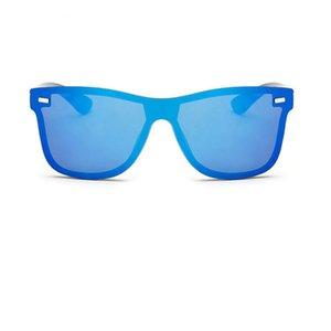 MLLSE Mode Persönlichkeit für Männer Stilvolle Vintage verbundene Sonnenbrille UV400 Neue Die Augenkleidungsrahmen Männer Sonnenbrille CVDBs
