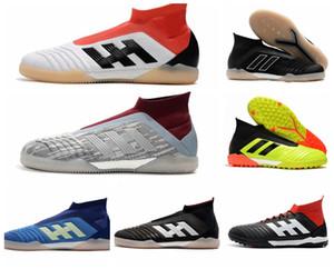 2018 mens chuteiras de futebol Predator Tango 18 + TF em alta tornozelo chuteiras tango 18 botas de futebol botas de scarpe da calcio