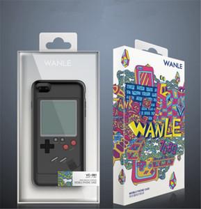 Fundas de teléfono Gameboy Tetris para iPhone 6 6s 7 7plus 8plus Play Blokus Game Console Cover Protection Gift