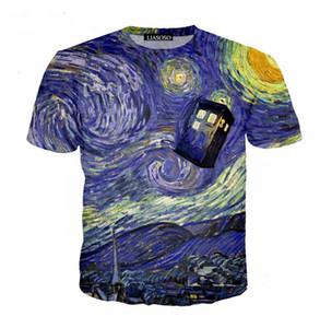 Casual stile Harajuku Top Uomo Donna T-Shirt TV popolare 3D Stampa Doctor Who Casual girocollo Pullover T Shirt S-XXXXXXXL U766