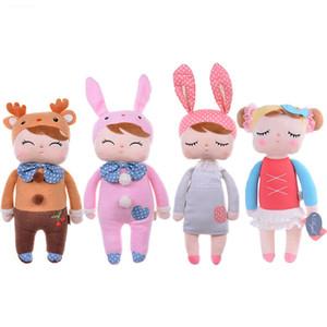 Genuine Metoo Angela bonecos de pelúcia brinquedo do bebê para crianças menina crianças brinquedos de presente Do Laço de Coelho Coelho animais de pelúcia com caixa de pelúcia