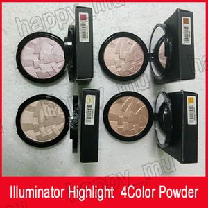 Marca Iluminador Maquiagem Miner Foundation Pó Maquillaje 4color face Bronzer Destaque Contour Definir Pó frete grátis