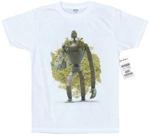 Guardian Robot T shirt de Laputa Illustration 3D #Château dans le ciel