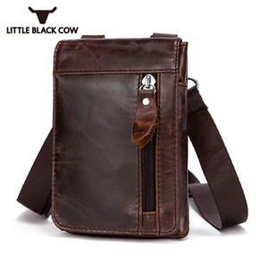 Top Phone Pack Bags Outdoor Quality Cover Resistant British Leather Wear Waist Fanny Classic Cow New Bag Men Pouch Four Colors Abcix