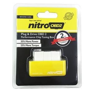 NITRO OBD2 칩 튜닝 박스 더 많은 전력 토크 니트로 OBD 플러그 드라이브 니트로 OBD 2 자동차 디젤 AUDI BMW 혼다 스 바루