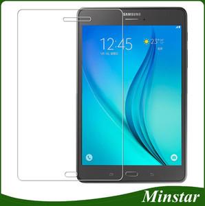 Samsung Galaxy Tab için Bir 2017 T380 T385 8 Inç TabA T285 T280 7 T580 T585 10.1 Tablet Temperli Cam İnce Ekran Koruyucu