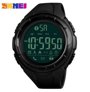SKMEI Men Fashion Smart Watch Waterproof Pedometer Digital Wristwatches Remote Camera Calorie Bluetooth Watch Relogio Masculino
