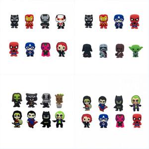 배트맨 VS 수퍼맨 마블의 복수 자 믹스 만화 냉장고 자석 PVC 화이트 보드 스티커 크리 에이 티브 홈 / 주방 / 카 장식 키즈 호의 파티 선물