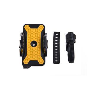 Supporto per telefono regolabile Supporto per bicicletta Supporto per telaio antiscivolo Addensato Supporto pratico multiuso fisso 13jh jj