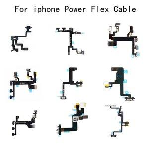 Novo para iphone 5 5s 5c se 6 6 s plus 7 7 plus 8 8 mais iphone x interruptor de energia em off chave do botão cabo flex fita flex cable peças de reposição