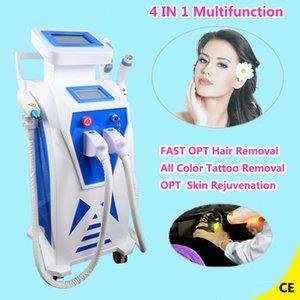 Facotry Preço Elight IPL depilação a laser Nd yag máquina de remoção de tatuagem a laser spa salão de beleza clínica uso multifuncional máquina de beleza