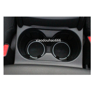 Di alta qualità Car Groove Gate Slot Armrest Storage Gomma tappetini antiscivolo stuoia pad interno porta / tazza 18 pz Per Mazda CX-5 CX5 2017 2018