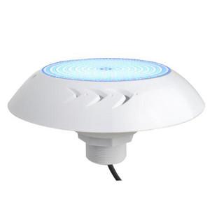 Rivestimento in vinile per piscine luce subacquea IP68 18 Watt 12 V montaggio a incasso in resina per piscine Nicheless LED per lampade per calcestruzzo 18W RGB bianco CE