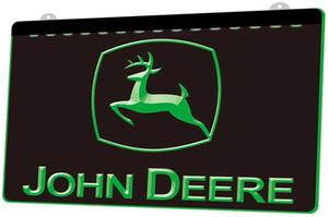 segno LS481-g-John-Deere-Light della luce al neon decorazione Dropshipping di spedizione libero all'ingrosso 8 colori tra cui scegliere