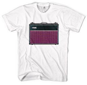 Vox Ac30 Guitar Amp Unisex T Shirt Tutte le taglie Colori manica corta girocollo T Shirt promozione manica corta Tshirt Moda