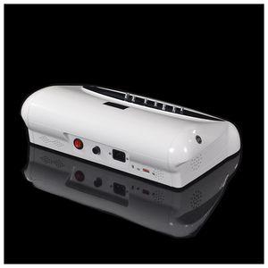 Gesundheitswesen Dual Detox-Maschine Fußbad Spa-Maschine Ionen reinigen Ionische Detox-Fußbad mit Fernen Infrarot-Gürtel