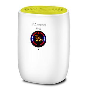 Ev Nem Alıcısı LCD Hava Kurutucu 800 ML Büyük Kapasiteli 25 W Güç Tasarrufu Kurutma Makinesi Ev Gardırop Depo Bodrum