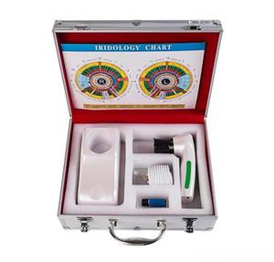 Yeni profesyonel dijital Iriscope iridology kamera göz test makinesi 12.0MP analizör tarayıcı DHL Kargo iris