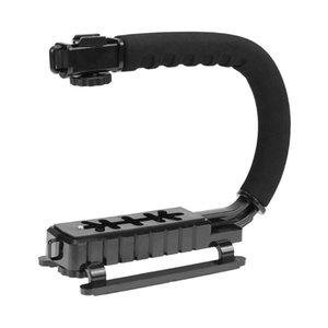U-Grip Triple Shoe Mount Video Action Stabilizing Handle Grip Photography Accessory لمعظم كاميرا DV