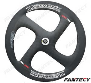 Hohe qualität! 700C Null 4-speichen carbon räder 20,5mm breite für Straße / Track Bike rohr / clincher carbon Wheelset