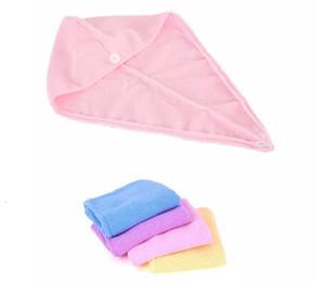 Microfiber Fabric thickening Dry Hair Hat Turban Super Absorbent Amazing Magic Quick-drying Hair Shower Cap Bath Towel