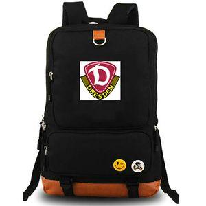 Sac à dos Dynamo Dresden Sac à dos SG D Sac cartable Badge club de football Sac à dos Équipe de football Sac cartable en toile Sac de jour Outdoor