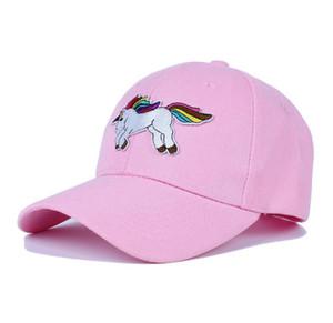3 ألوان الكبار يونيكورن قبعة بيسبول للرجال النساء جميل سنببك كاب تعديل المطرزة الأزياء عارضة الهيب هوب قبعة الشمس