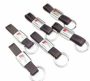 S Sline Emblem RS Sticker Black Red Keychain الجلود لأودي 3 A8 A5 خط TT A4 Q5 شارة 3D Q7 A6 Line Keyring Keyfob Lusmr