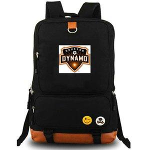 Dynamo Rucksack Houston Daypack Orange Crush Fußballverein Schultasche Fußball Packsack Teamrucksack Laptop-Schultasche Outdoor-Tagesrucksack