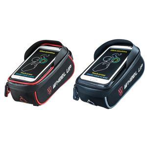 Suporte do telefone da bicicleta à prova d 'água universal suporte para iphone 7 6 5s 7 plus gps bicicleta titular com saco de telefone carteira