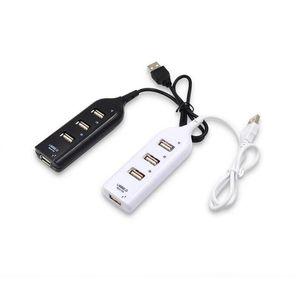 4 또는 7 포트 USB 확장 분배기 고속 USB2.0 480Mbps USB 허브 포트 USB 1.1 / 1.0 NO 패키지와 호환 가능