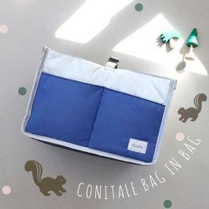 Borsa per pannolini di moda Biberon per neonati Scaldino esterno per alimenti termali Organizer Bustina di immagazzinaggio per mummia multifunzione per passeggini per bambini