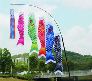 Koinobori Koi Nobori Carp Windsocks серпантин красочные рыбы флаг украшения мед рыба Кайт флаг висит стены декор 40 см 55 см 70 см 100 см 150 см