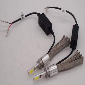 크리어 XHP-70 LED 헤드 라이트 키트 자동차 전구 9005 9006 9012 H4 H7 H9 H11 110W 13200LM 6000K 빔 할로겐 램프 크세논 교체