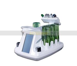 4 in 1 koreanische Modell Hydra Gesichts Hydra Dermabrasion RF Bio Microcurrent sechspoligen Radiofrequenz-Spa-Maschine
