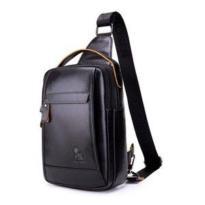 Nouveau sac à bandoulière en cuir véritable pour hommes sac à bandoulière en cuir véritable sac à bandoulière